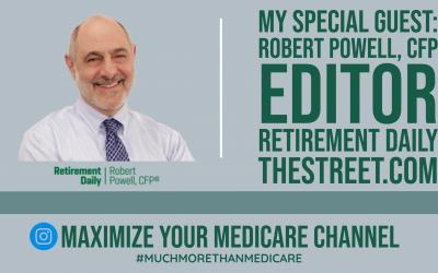Robert Powell, Prominent Retirement Journalist